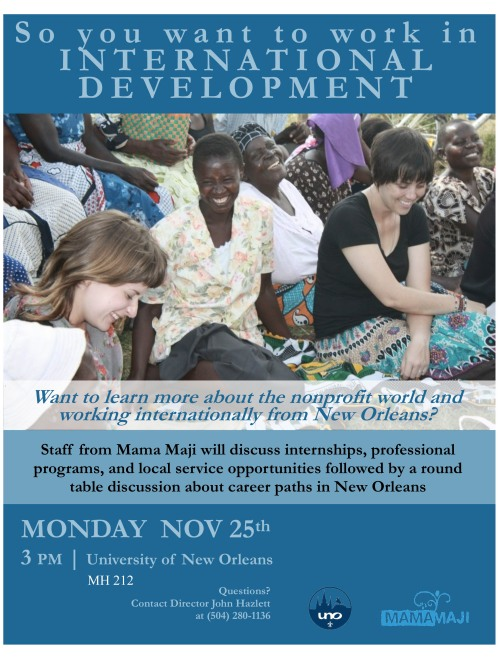 UNO flyer international development