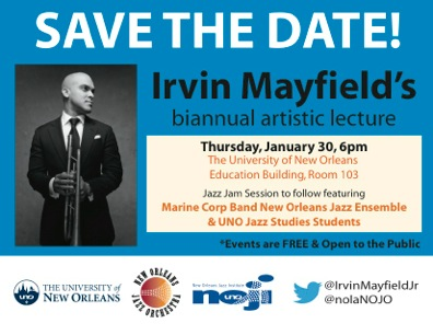 Irvin mayfield Lecture