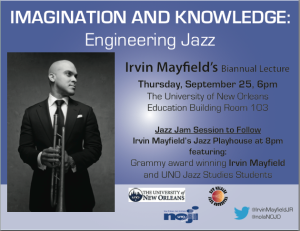 9.23 Engineering Jazz Irvin Mayfield
