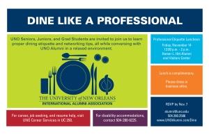 11.14 Dine Like a Professional