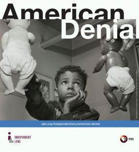A promotional image for American Denial